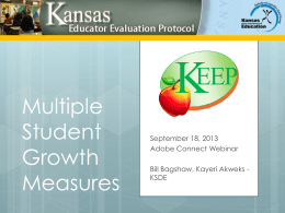 Multiple Measures - Kansas State Department of Education