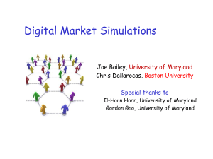 Digital Market Simulations - QUEST
