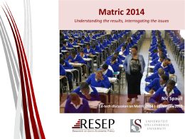 Matric 2015 - WordPress.com
