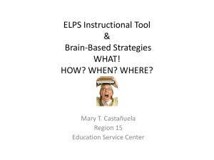 ELPS Instructional Tool