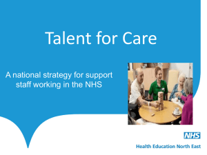 Helen Suddes – Talent for Care