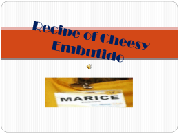 Recipe of Cheesy Embutido