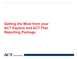 Explore-Plan Data Interpretation Workshop PowerPoint