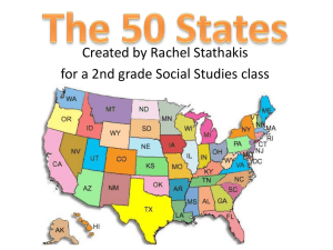 50 States PowerPoint