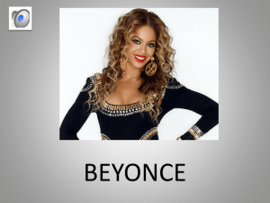 Beyonce - WordPress.com