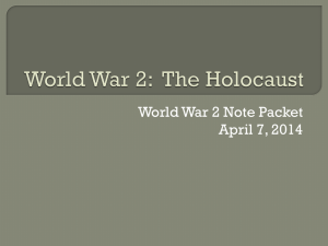 World War 2: The Holocaust