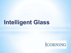 Intelligent Glass