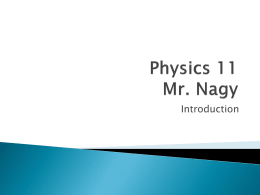 introduction to physics powerpoint