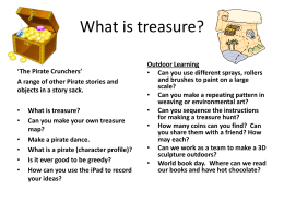 Can you make your own treasure map?
