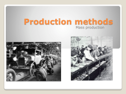 Production methods