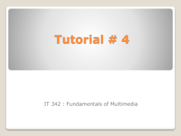 Tutorial # 4 - WordPress.com