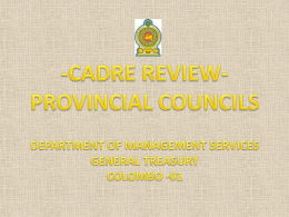 carderReview - Ministry of Finance and Planning