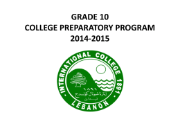 Orientation 5CPP September 2014