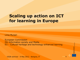 ICT for learning