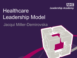 Healthcare Leadership Model