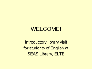 Library - SEAS Library Home Page
