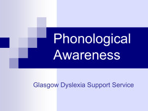 Visual Stress - Dyslexia Scotland