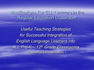 What is ESL? - Campbell County Schools