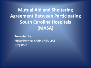 MASA - South Carolina Hospital Association