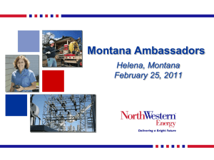 NorthWestern Energy – Rick Edwards