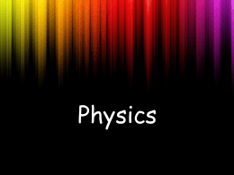 Is Physics Hard? - GUIDANCE ON THE GREEN
