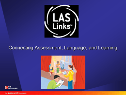 LAS Links Training Presentation