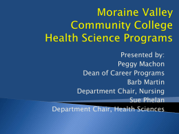 Which Health Science Program Am I Most Suited For?