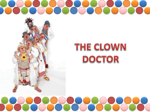 THE CLOWN DOCTOR