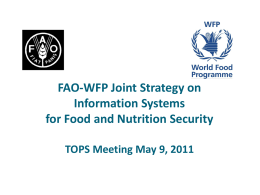 fao-wfp-joint-isfns-strategy - Food Security and Nutrition Network