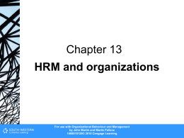 Chapter 13 - Cengage Learning