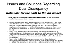 Issues and Answers Regarding Dual Discrepancy