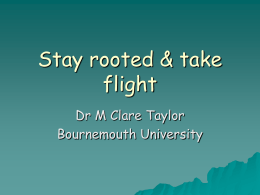 Microsoft PowerPoint - Bournemouth University Research Online