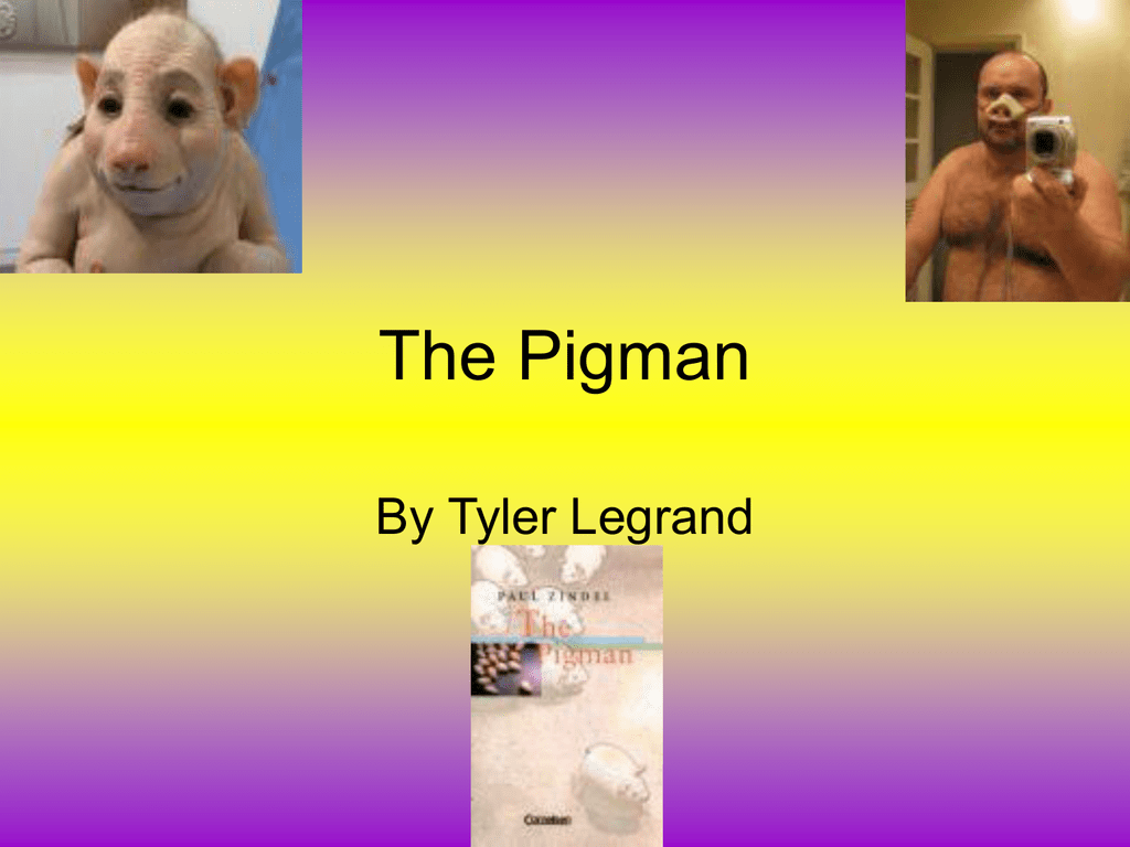 pig man slideshow 2 st tammany junior high school