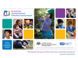 play_based_learning - Early Childhood Australia