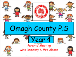 Omagh County P.S. - Omagh County Primary School