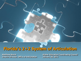Articulation: Removing Unnecessary Barriers