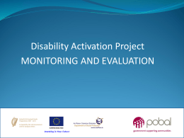 DACT Monitoring Presentation Bush Hotel 2013