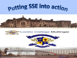Putting SSE into action - Sinead Lawlor