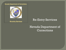 NDOC-Re-Entry Services