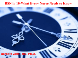 What Every Nurse Needs to Know