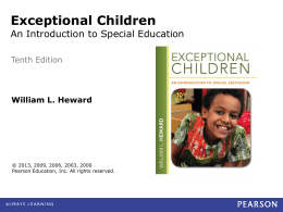 4-5 Definitions of Intellectual Disability