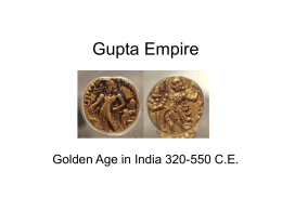 Gupta Empire 320