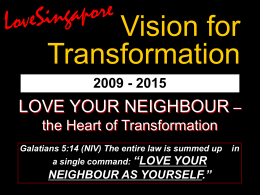Transformation Vision Powerpoint
