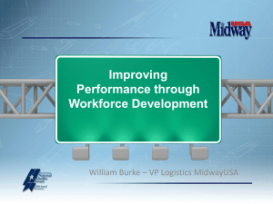 Improving Performance through Workforce Development