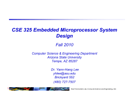Slides_1 - Real-Time Embedded Systems Lab