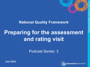 assessment-rating - The Department of Education and Training