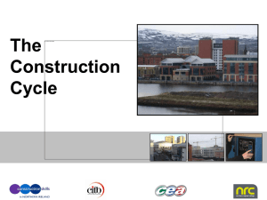 Construction Cycle Unit 2