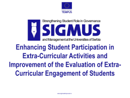Enhancing Student Participation in Extra