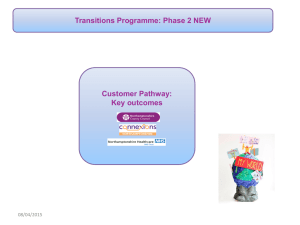 Transitions outcomes New