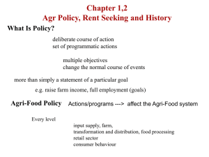 Chapter 1 - Introduction - Agricultural Economics at McGill University